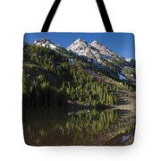 Mountains Co Pyramid 2 Tote Bag