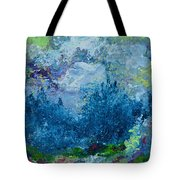 Mountains In Spring Tote Bag