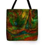 Mountains In The Rain Tote Bag