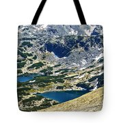 Mountains Lakes Tote Bag