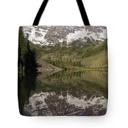 Mountains Maroon Bells 11 Tote Bag