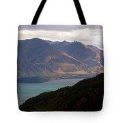 Mountains Meet Lake #4 Tote Bag