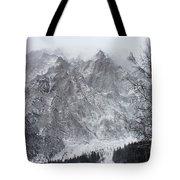 Mountains Of Austria Tote Bag