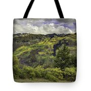 Mountains Of Color Tote Bag