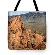 Mountains Of Fire Tote Bag