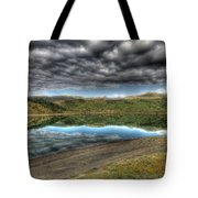 Mountains Of Serenity Tote Bag