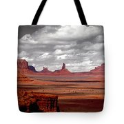 Mountains, West Coast, Monument Valley Tote Bag