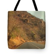 Mountainside And Stall Tote Bag