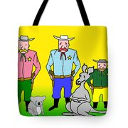 Mourning The Swagman Tote Bag