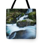 Mouse Creek Falls In Colour Tote Bag