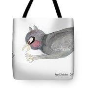 Mouse Escape Watercolor Tote Bag