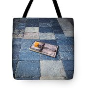 Mouse Trap With Cheese. Tote Bag