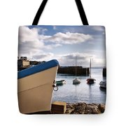 Mousehole Harbour On A May Morning Tote Bag