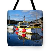 Mousehole Harbour Tote Bag