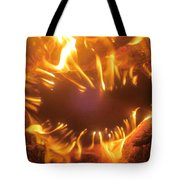 Mouth In The Flame Tote Bag