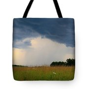 Mouth Of The Storm Tote Bag