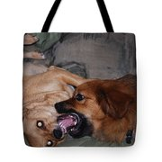 Mouth To Mouth Tote Bag