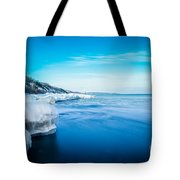 Moving Ice Tote Bag