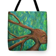 Moving Past The Nature Of Myself Tote Bag