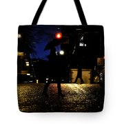Moving Rain Tote Bag