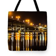 Moving Reflection Tote Bag