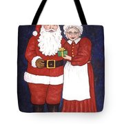 Mr And Mrs Claus Tote Bag