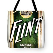 Mr. And Mrs. Flint Tote Bag