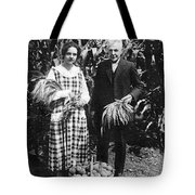 Mr. And Mrs. Luther Burbank Tote Bag