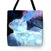 Mr. Blue Bunny Tote Bag