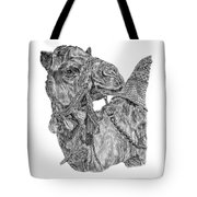 Mr Camel Tote Bag