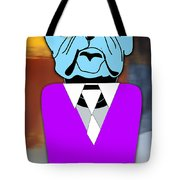 Mr Cool Bulldog Tote Bag
