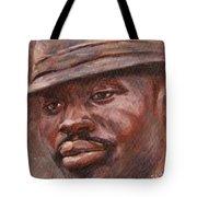 Mr Cool Hat Tote Bag