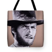Mr. Eastwood Tote Bag