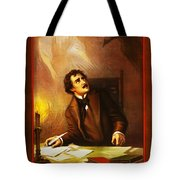Mr Henry Ludlowe In The Raven Tote Bag