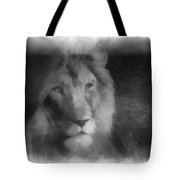 Mr Lion Photo Art 01 Tote Bag