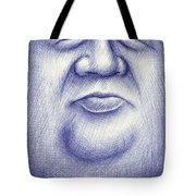 Mr. Moon Tote Bag