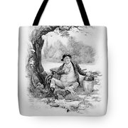 Mr Pickwick, From Charles Dickens A Tote Bag