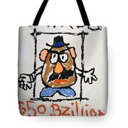Mr. Potato Head Gone Bad Tote Bag