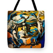 Mr. Rainbow With A Fried Egg Sunny Side Up Tote Bag