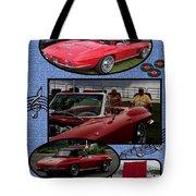 Mr. Sox Corvette Tote Bag