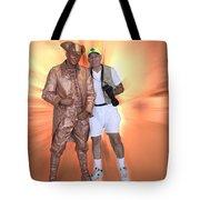 Mr Statue Tote Bag