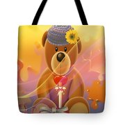 Mr. Teddy Bear Tote Bag