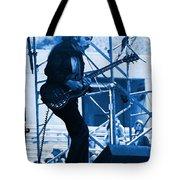 Mrdog #63 Enhanced In Blue Tote Bag