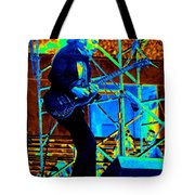 Mrdog #63 Enhanced In Cosmicolors Tote Bag