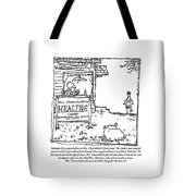 Mrs. Clearwhistle Tote Bag