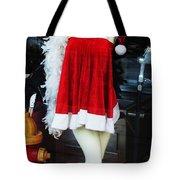 Mrs Santa Manequin Tote Bag