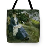 Mrs Symons In Scotland Tote Bag