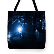 Mrush #33 In Blue Tote Bag