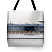 M S Independence Of The Seas Tote Bag