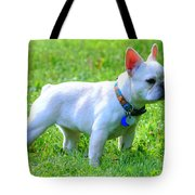 Ms. Quiggly - French Bulldog Tote Bag
